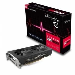 Vaizdo plokštė SAPPHIRE PULSE RADEON RX 580 8G GDDR5 DUAL HDMI / DVI-D / DUAL DP OC W/BP (UEFI)