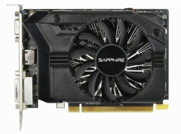 Vaizdo plokštė Sapphire Radeon R7 250, 2GB DDR3 (128-Bit), HDMI, DVI, VGA, BULK*
