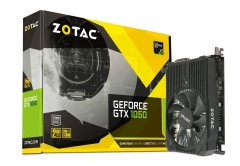 Vaizdo plokštė ZOTAC GeForce GTX 1050 Mini 128bit 2GB GDDR5 DVI-D, HDMI, Display Port