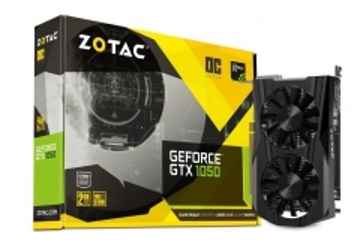 Vaizdo plokštė ZOTAC GeForce GTX 1050 OC, 2GB GDDR5 (128 Bit), HDMI, DVI, DP
