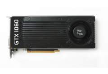 Vaizdo plokštė ZOTAC GeForce GTX 1060, 6GB GDDR5 (192 Bit), Blower, HDMI, DVI, 3xDP, BULK