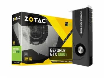 Vaizdo plokštė ZOTAC GeForce GTX 1080 Ti, 11GB GDDR5X, 3xDP,HDMI