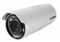 Edimax Outdoor Vari-focal 3Mpix H.264 PoE Day Night IR LED IP Camera, ONVIF