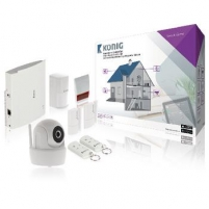Vaizdo stebėjimo kamera Smart Home Security Set Wi-Fi / 868 Mhz Vaizdo stebėjimo kameros
