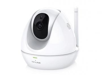 Vaizdo stebėjimo kamera TP-Link NC450 HD Pan/Tilt WiFi N300 Cloud IP Camera, 720p, M-JPEG, Two way audio Video surveillance cameras
