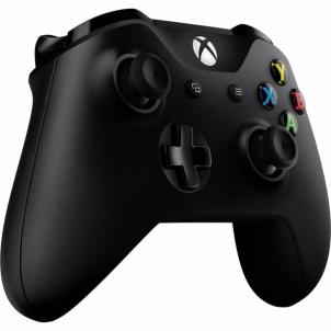 Valdiklis Xbox ONE S Wireless Controller - Juodas Žaidimų konsolės ir priedai