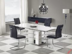 Valgomojo išskleidžiamas stalas Lord baltas