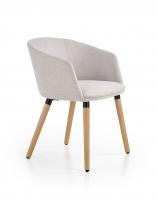 Valgomojo kėdė K266 šviesiai pilka