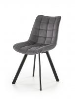 Valgomojo kėdė K332 tamsiai pilka Dining chairs