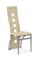 Valgomojo kėdė K4-M tamsus kremas
