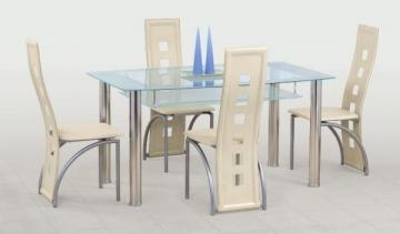 Galds Cristal Ēdamistabas galdi