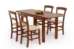 Valgomojo stalas DINNER 120/158 antikinė vyšnia
