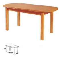 Table with pop-up Wenus P-III