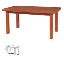 Table with pop-up Wenus P-V L