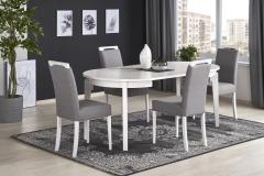 Valgomojo stalas SORBUS baltas