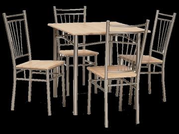 Valgomojo Stalas su kėdėmis Fit Valgomojo stalai