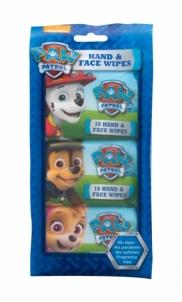 Valomosios servetėlės Nickelodeon Paw Patrol Hand & Face 30pc Kūdikių higienos prekės, sauskelnės