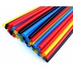 Vamzdelis termosusitraukiantis, RC 12,7/6,4mm2, geltonas, Radpol