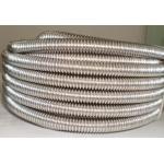 Vamzdis gofruotas metalinis d9/12mm (50m), VMG12/9 Gofrēta caurules, pvc