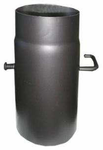 Vamzdis kamino D150 250mm su užsklanda S Kaminų komplektuojančios dalys ir priedai