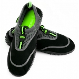 Vandens batai AQUA SPEED SHOE MODEL 5A juoda/pilka/žalia Water shoes