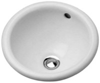 Vanity basin 34 cm Architec Bali,white, countert