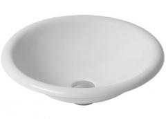 Vanity basin 45 cm Architec,white,circular,w/o o