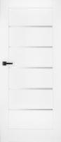 Varčia D60 Domino4 B490 Balta Faneruotos durys