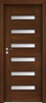 Door leaf INVADO Virgo1 K70 oak (B224) without key hole