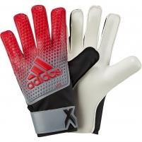 Vartininko pirštinės adidas X LITE CF0088 raudona-pilka-juoda, Dydis 9