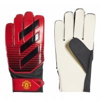 Vartininko pirštinės ADIDAS YOUNG PRO MANCHESTER UNITED CW5622 red-black Goalie gloves