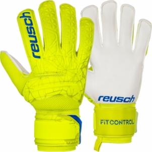 Vartininko pirštinės Reusch Fit Control SD Open Cuff Junior 3972515 588 Goalie gloves