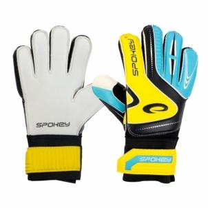 Vartininko pirštinės Spokey SUPPORT Blue/Yellow