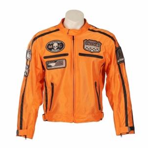 Vasarinė motociklininko striukė BOS 6488 Orange