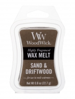 Vaškas WoodWick Sand & Driftwood Scented Candle 22,7g Ароматы для дома
