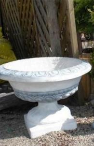 Flowerpot, H-51 cm Decorative concrete products
