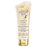 Veido mask Avon Radiance facial massage mask with extracts of pearl and seaweed Planet Spa Caribbean Escape 75 ml