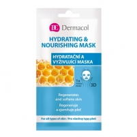 Veido kaukė Dermacol Hydrating & Nourishing Mask Cosmetic 15ml