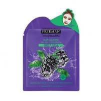 Veido kaukė Freeman Deep Cleansing Mask cloth Tea Tree and blackberry (Deep Clearing Mask) 25 ml Kaukės ir serumai veidui