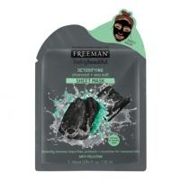 Veido kaukė Freeman Detoxifying Cloth Active Carbon and (Detoxifying Sheer Mask) 25 ml Kaukės ir serumai veidui