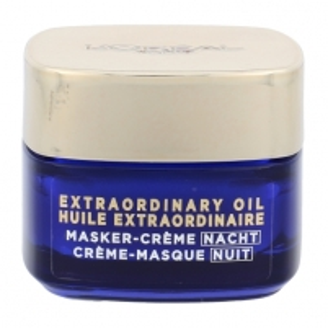 Veido mask L´Oreal Paris Age Perfect Extraordinary Oil Night Cream Mask Cosmetic 50ml