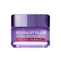 Veido mask Loreal Paris Pleť network mask against wrinkles with hyaluronic acid Revitalift Filler (Replumping Mask) 50 ml