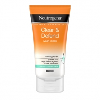 Veido kaukė Neutrogena 2in1 Visibly Clear Spot Proofing (2in1 Wash Mask) 150 ml Kaukės ir serumai veidui