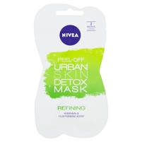 Veido kaukė Nivea Urban Skin (Face Peel-Off Mask) - 2 x 5 ml