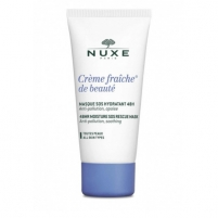 Veido kaukė Nuxe Creme Fraiche De Beauté (48 HR Moisture SOS Rescue Mask) 50 ml