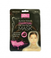 Veido kaukė XPel Pleť network mask with charcoal Charcoal Detox 3D (Detox Facial Mask) 28 ml Kaukės ir serumai veidui