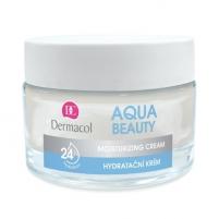 Veido cream Dermacol Moisturizer Aqua Beauty (Moisturizing Cream) 50 ml Creams for face