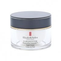 Veido cream Elizabeth Arden Flawless Future Powered By Ceramide Night Cream Cosmetic 50ml