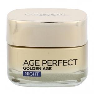 Veido kremas L´Oreal Paris Age Perfect Golden Age Night Cream Cosmetic 50ml Krēmi sejai