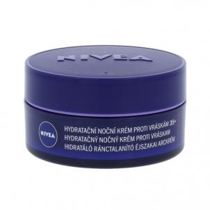 Veido kremas Nivea Anti-Wrinkle + Moisture Night Cream Cosmetic 50ml